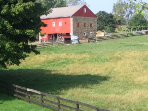 a petite view of Shiloh farm