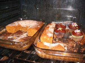 Amish friendship bread = pumpkin cake