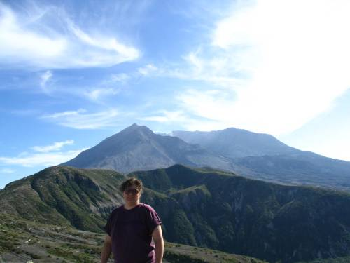 Me at Mount St. Helens