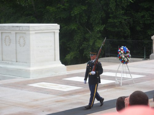 Arlington National Cemetery, Tomb of the Unknown Soldier